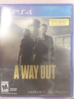 ps4 game a way out