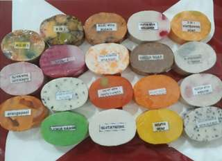 super sale!!!! Oval whitening soaps