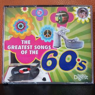 5CD》The Greatest Songs Of The 60's