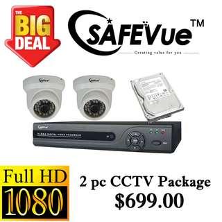SafeVue 1080P IP CCTV Package 2 ****