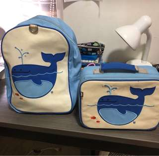 Little kid backpack and Lunch bag