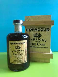 Edradour Stright from the Cask 10years Sherry butt 蘇格蘭威士忌500ml