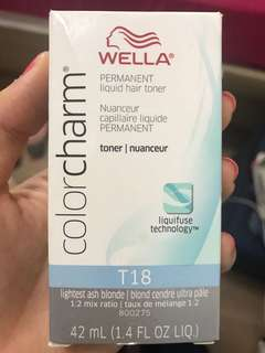 Wella Colour Charm Permanent Liquid Hair Toner T18