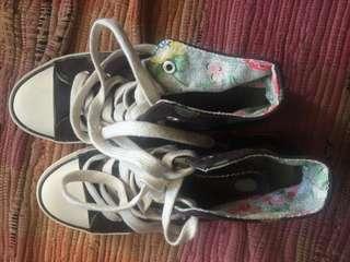 Brand new Cath Kidston high cut sneakers