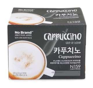 韓國 即沖咖啡Cappuccino 50pcs
