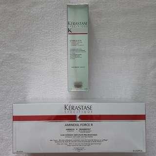 A set  $342 Kerastase Specifique Hair Set    Aveda  Loreal Redken