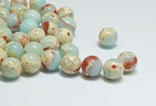 48pcs. 8mm acrylic beads
