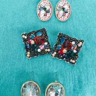Gorgeously sparkly earrings