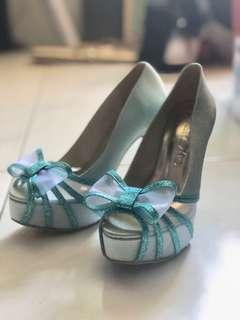 Christy Ng Blue Heels