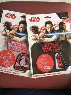 Star Wars 襟章 / marvel 幣