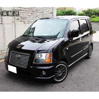 專辦全額貸 零元可交車 2005 鈴木汽車 SOLIO  1.3 黑色 自排