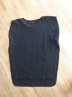 COS Black top fits small - medium