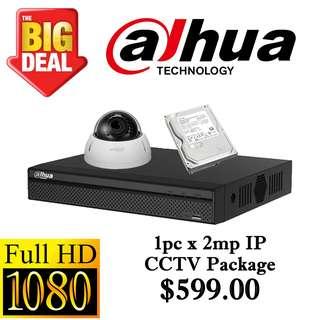 Dahua 2MP IP CCTV Package 1 ****