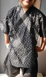 Boys kimono set, kids baju raya