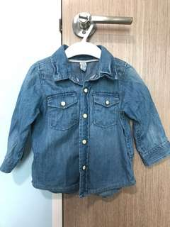 babyGap Denim Shirt (12-18M)