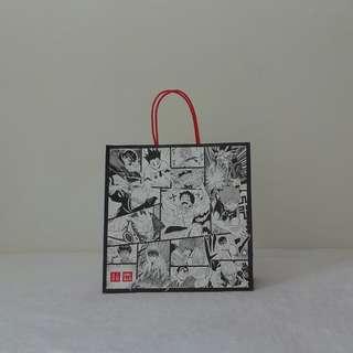 Uniqlo X Jump 50th Anniversary Paper Bag