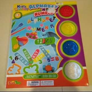 Kids Dough Alphanumeric