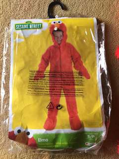 Toddler Elmo Costume 2-3Yrs