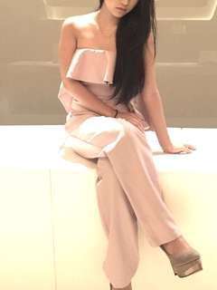 Nude Pink Formal Onesie/Jumpsuit