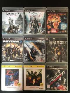 Ps3 Games(18 cd)