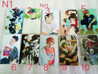 Sticker card nct/ Bigbang