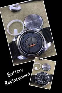 Battery Replacement for Watch