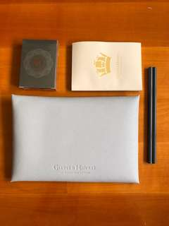 Gieves & Hawkes Clutch with stationaries