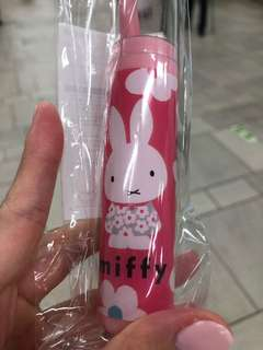 Miffy travel toothbrush set
