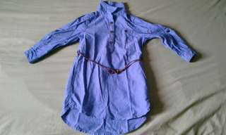 Maong Dress for 2 years old