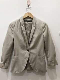 Blazer cream zara
