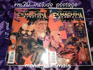 comic exmachina special