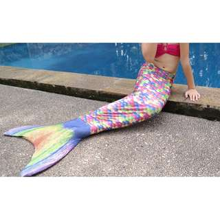 Children Mermaid Tail & Fin