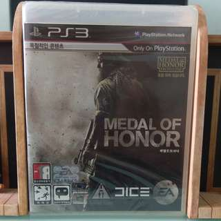 PS3 Game - Medal of Honor