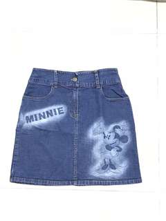 Rok jeans minnie mouse