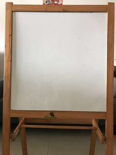 IKEA Children Whiteboard and Blackboard
