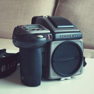 Hasselblad H3D with HC50MM -110MM 3,5,4.5 Lens