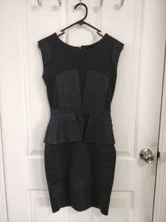OXFORD Black Work Dress - Size 6