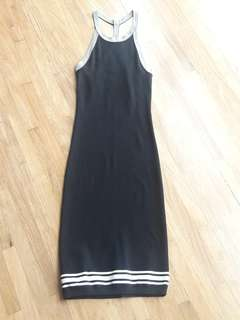 repriced Mango Black stretchable dress in medium