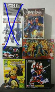 Transformers Masterpiece (Original) and PE Guardian