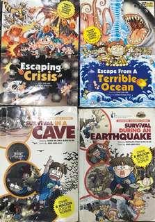Survival Science Comic Books