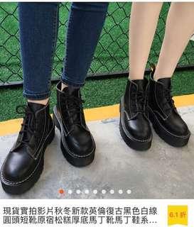 🚚 短靴厚底