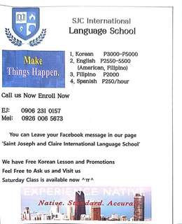 Korean Language School