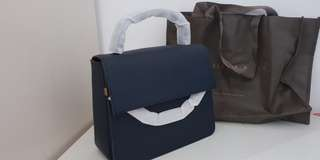 Charles and Keith Handbag Top Handle Chain