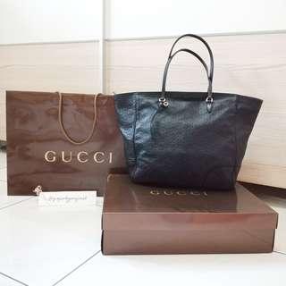 Gucci Bree Authentic Tote Bag Leather Original