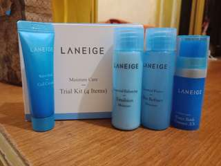 Laneige Moisture Care Trial Kit 4items