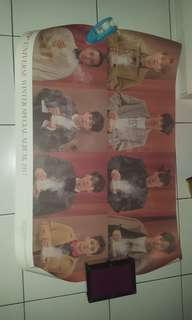 Poster exo all member universe