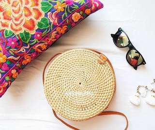 Round bag from Bali ☀️ (on hand)!!!