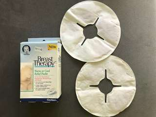 Gerber breast therapy cooling pads