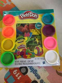 BNIB play doh alphabet and numbering set