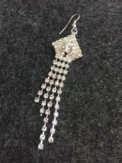 Bling bling earrings 1piece
